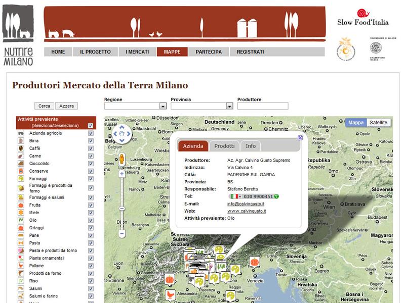 Piattaforma web per creare una comunity a kmZero